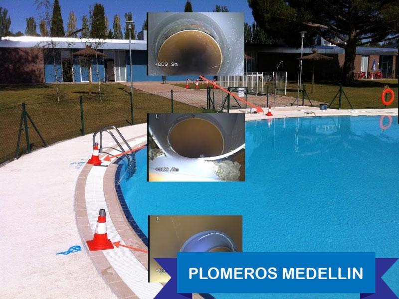 Plomeros medellin detecci n de fugas de agua en piscinas servicio de plomeria bogota y medellin - Deteccion de fugas de agua en piscinas ...